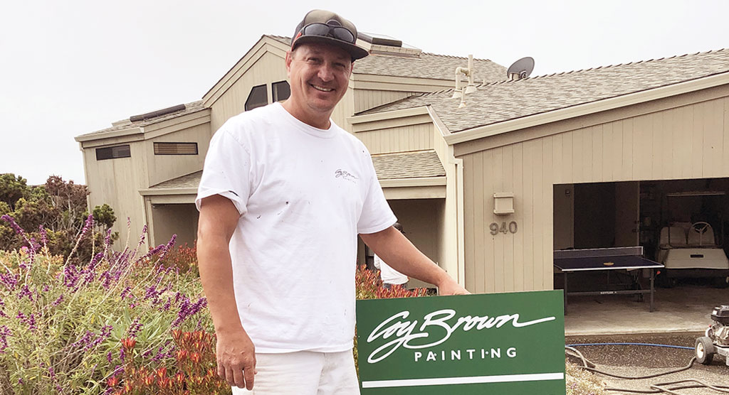 Coy Brown Painting staff